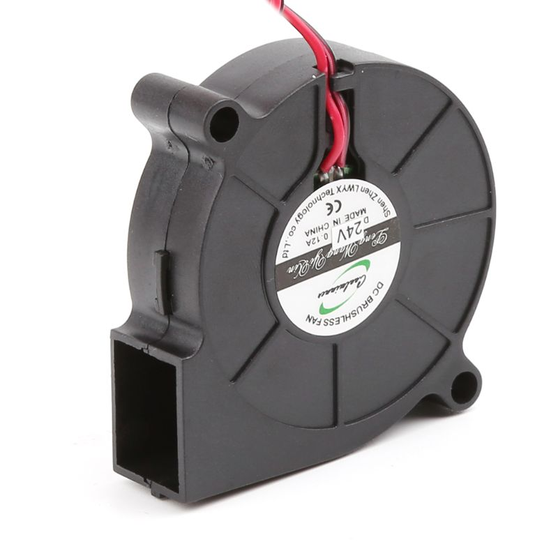 New Soldering Station Brushless DC Cooling Blower Fan 5015 50x50x15mm Mute Sleeve Bearing