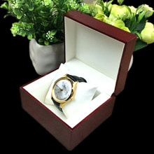 Luxury Red Wood Watch Box With Pillow