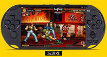Free hundreds games 5 inch big screen handheld game console Street Fighers Final Fight portable game player for GBA NES game