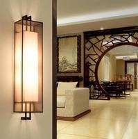 Современный китайский стиль отель Светильник Бра комната спальня исследование проходу огни лестницы коридор кафетерий прикроватные лампы