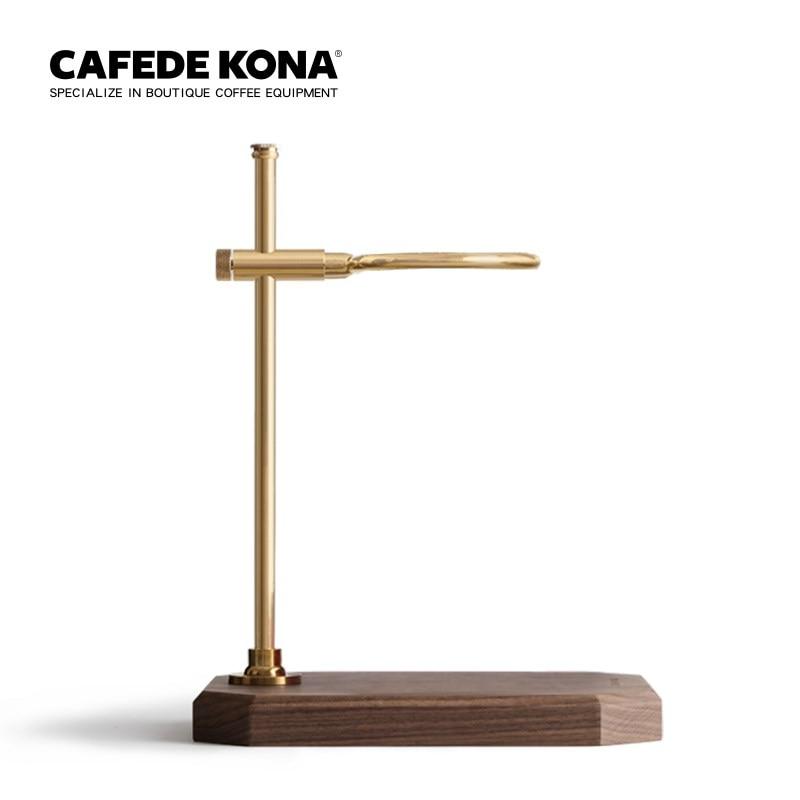 صب على القهوة قوس بالتنقيط قائم للقهوة خشبية قاعدة-في مرشحات القهوة من المنزل والحديقة على  مجموعة 1