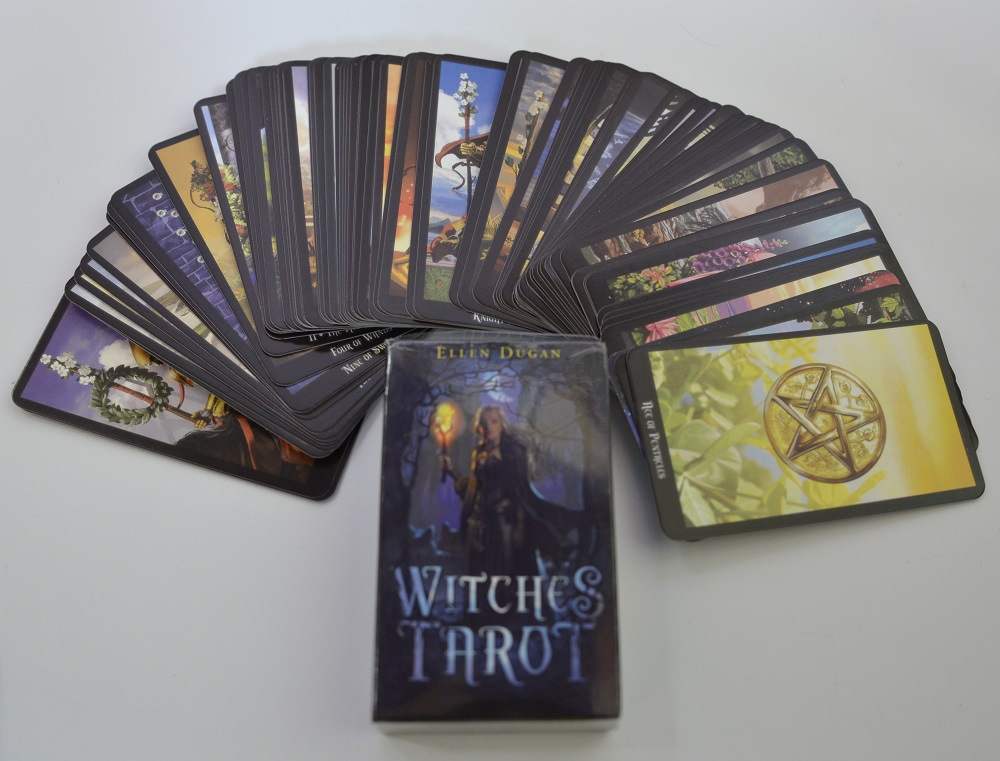 2019 New Full English Version  Tarot With Colorful Box Cards Best Board Game Playing For Party Cards ,Tarot Cards