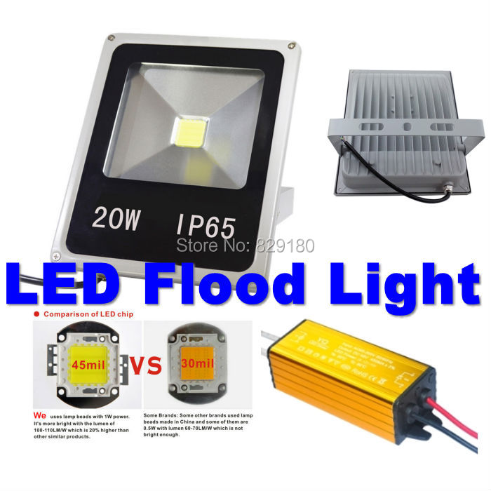 2 pcs/lot 20W-100W LED waterproof IP65 Floodlight Spotlight Outdoor Lighting for  park, square and tunnel lighting ultrathin led flood light 200w ac85 265v waterproof ip65 floodlight spotlight outdoor lighting free shipping