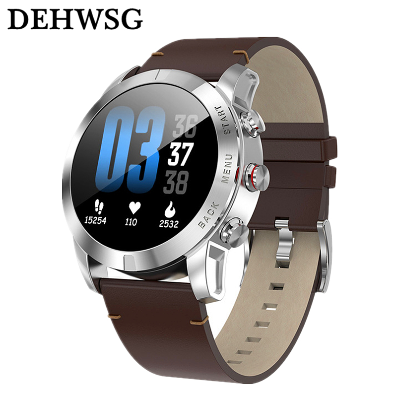 Discreet 2019 New Smart Watch S10 1.3 Inch Touch Screen Heart Rate Monitor Sports Watch Ip68 Waterproof 350mah Battery Fitness Band Pk Q8 Professional Design Smart Electronics
