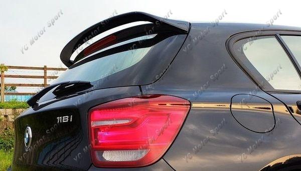2011-2014 BMW 1 Series F20 5D Hatchback AC Schnitzer Style Roof Spoiler FRP (5)