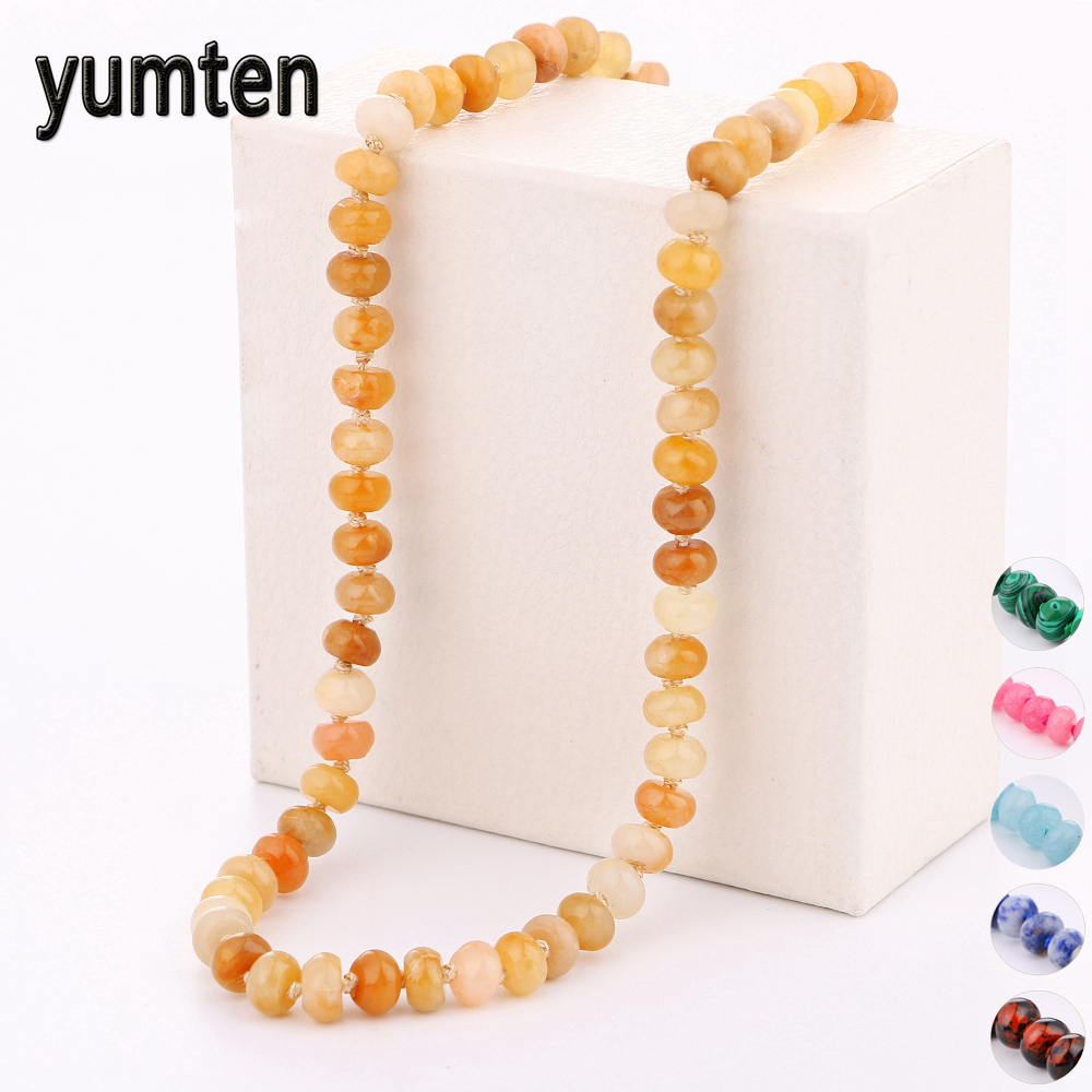 Yumten Bead Chain Necklace Women Fine Jewelry Men Аксесуари - Вишукані прикраси