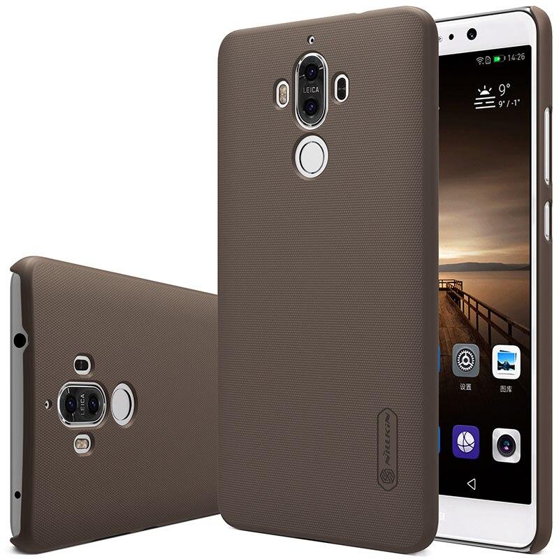 Untuk Huawei Mate 9 kasus Nillkin Frosted Perisai Keras Slim Matte - Aksesori dan suku cadang ponsel - Foto 4