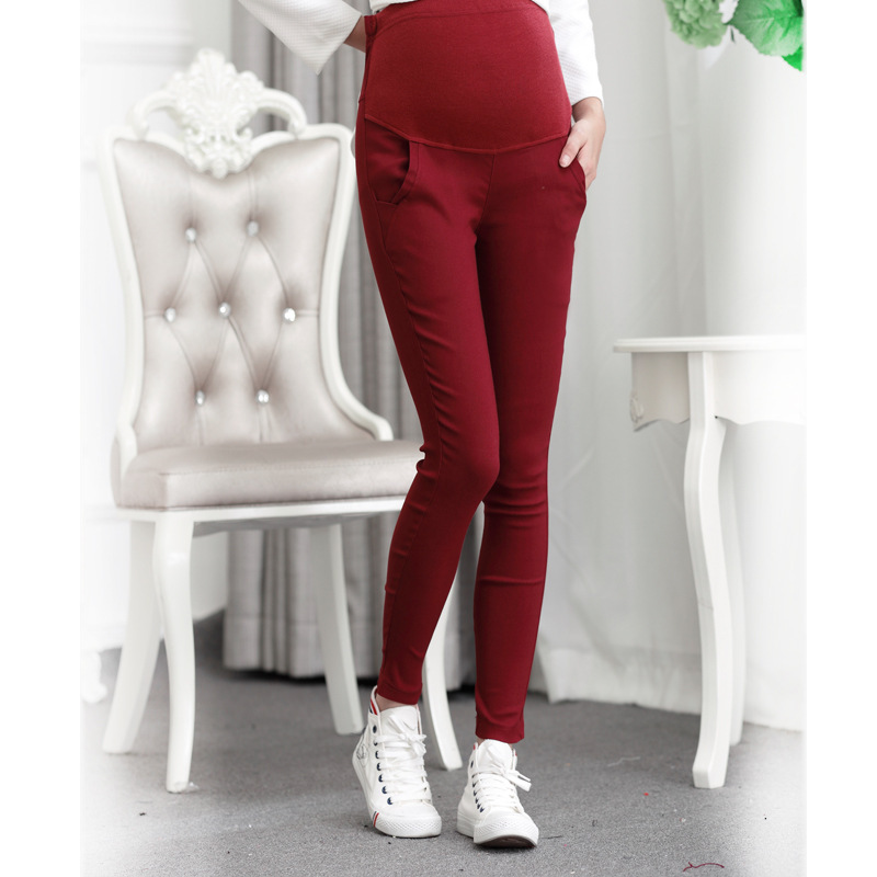 Pencil-Feet Pants Trousers Winter Pregnant-Women Fashion And Belly Was Thin Slim Autumn