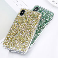 Luxury Cases For iPhone X 8 7 6 6S Plus 5 5S For Samsung S7 S8 Plus Note8 A3 A5 A7 J5 J7 2017 Bling Sparkle Glitter Sequin Cover