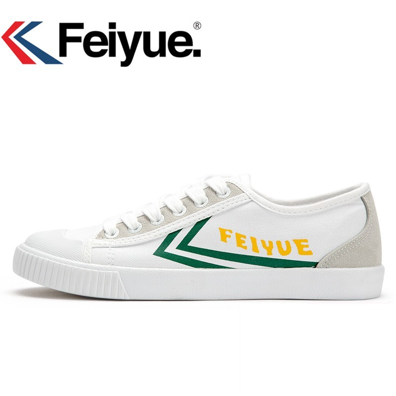24414995e1ac Keyconcept 2018 Feiyue baskets FE LO 2 PLAINE chaussures blanches ...