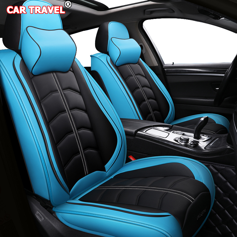 Blue For Chevrolet Cruze 2011-2019 Front Seat Car Seat Covers