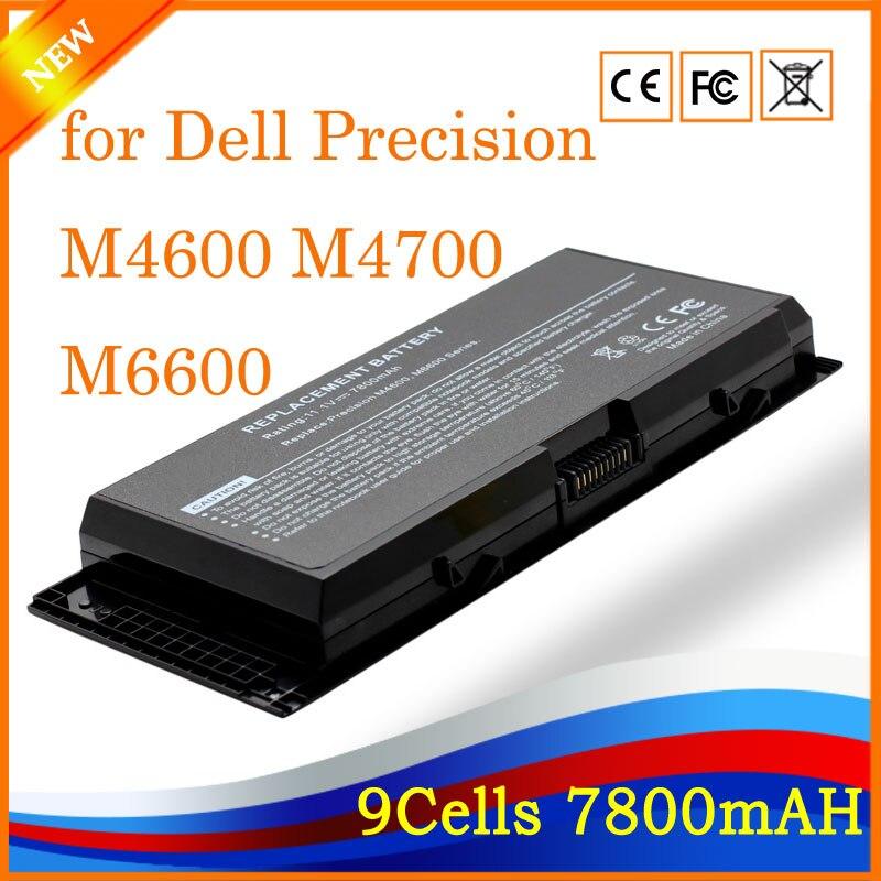 Haute Performance Portable Batterie D'ordinateur Portable pour Dell Precision M4600 M4700 M6600 M6700