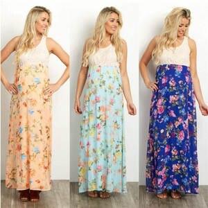 8c1ef4f933c Maternity dresses for photo lace chiffon pregnancy long