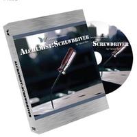 Alchemist: Screw Driver (2 Gimmicks and DVD) Trick Magic Trick,accessories,mentalism,,illusion,props,gimmick,2015 New