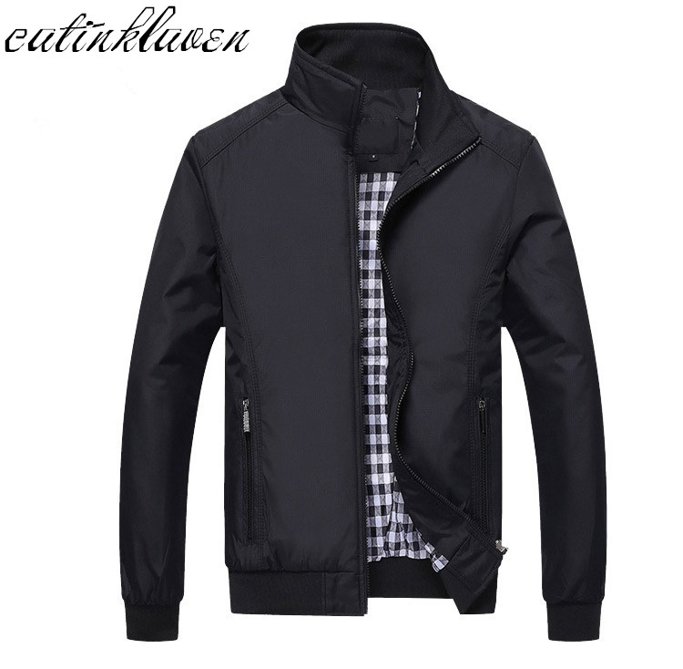New 2017 Jacket Men Fashion Casual Loose Mens Jacket Sportswear Bomber Jacket Mens jackets men and Coats Plus Size M- 5XL(China)
