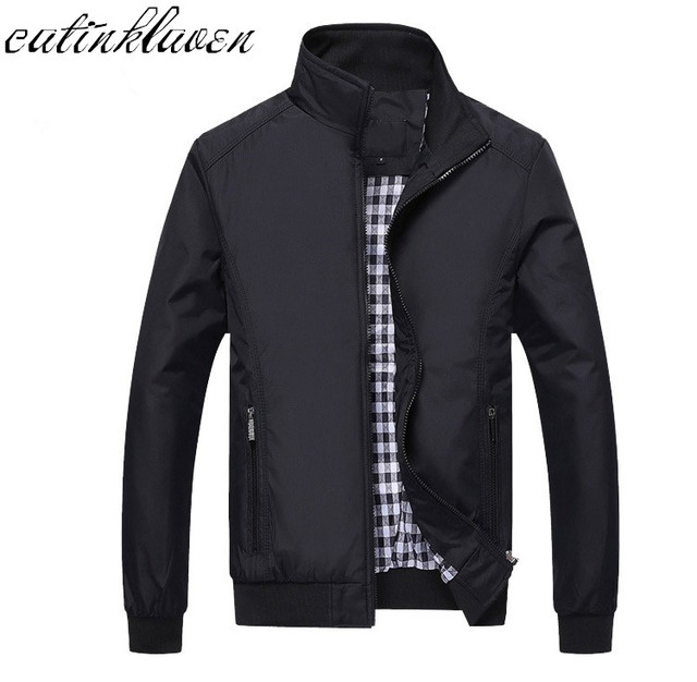 New 2017 Jacket Men Fashion Casual Loose Mens Jacket Sportswear Bomber Jacket Mens jackets men and Coats Plus Size M- 5XL