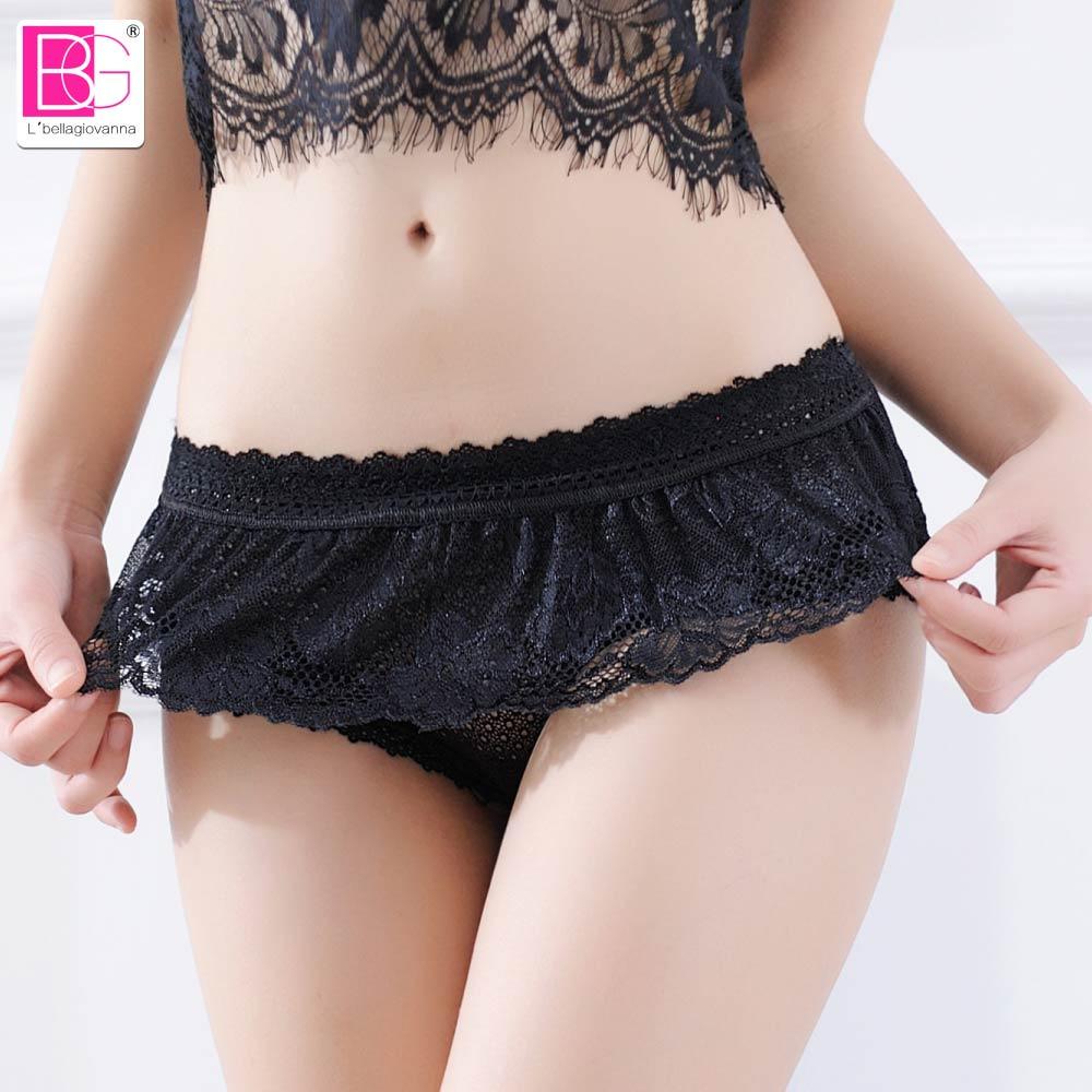 Culotte sexy en dentelle pour femme