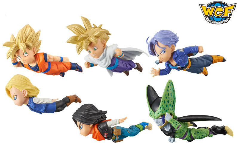 Dragon Ball Super WCF World Collectable Figure Anime 30th Anniversary Vol.3 -Gokou,Gohan,No.17,No.18,Cell,Trunks- 100% Original original banpresto world collectable figure wcf the historical characters vol 3 full set of 6 pieces from dragon ball z