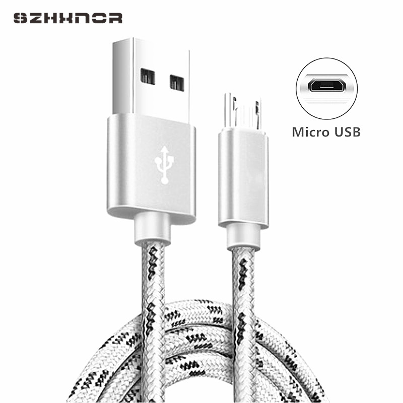 Micro USB Cable Fast charging for OPPO VOOC Data Wire Cord Charger For Samsung galaxy A7 2018 J2 J3 J5 J7 2017 Powerband Android