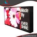 Lados doble/Dos Lados pantalla llevada Impermeable Al Aire Libre Shell caso Tamaño Del Gabinete 960x480mm P10, P16, P20