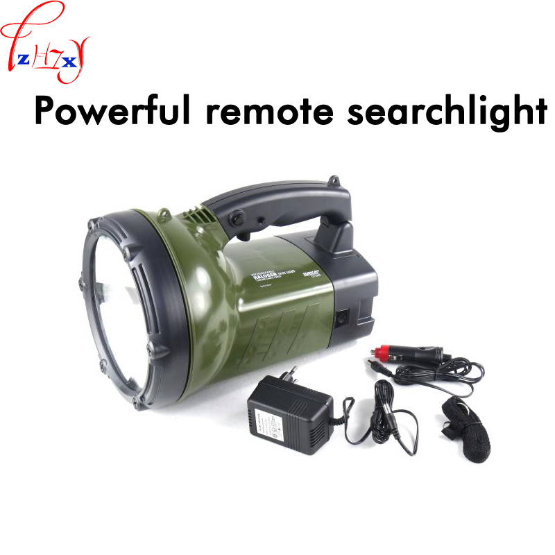 New Powerful remote searchlight CS-220S portable home rechargeable outdoor camping patrol waterproof searchlight 220V 1PC ...