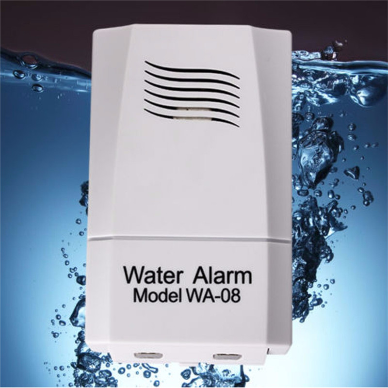 Wireless Water Leak Sensor Water Level Alarm Alert Detector System Home Security 10cm x 6.1cm x 3.5 cm russia ukrain romania water leak detector home alarm equipment and auto water shut off system with 1pc 1 2 valve dn15