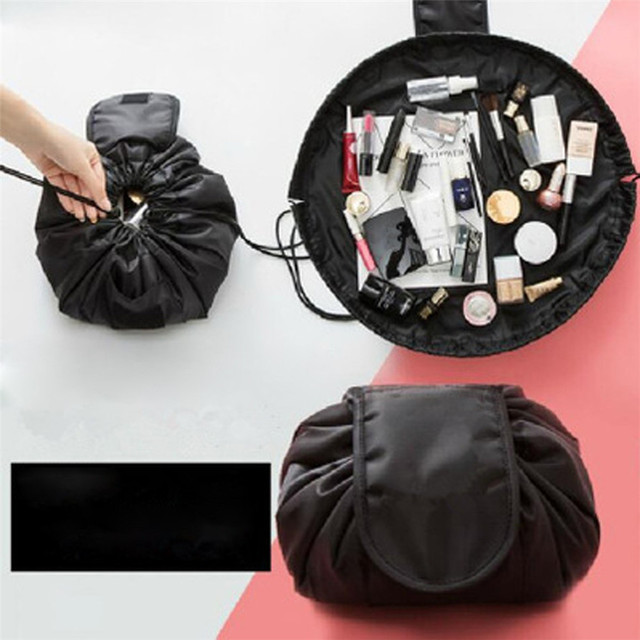 Outtop Cosmetic Bag Portable Beauty Drawstring Travel Makeup Organizer Storage Jewelery 180124 Drop Shipping