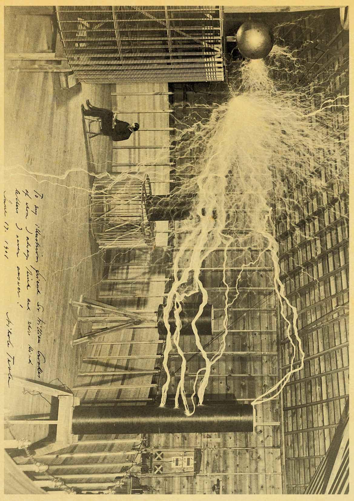 P/óster de Nikola Tesla E043,30 x 21 cm