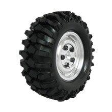 """4 Unids 96mm 1.9 """"1/10 rc crawler neumáticos ruedas llantas de aleación 12mm hex hub para axial tamiya hsp hpi redcat exceed coche"""