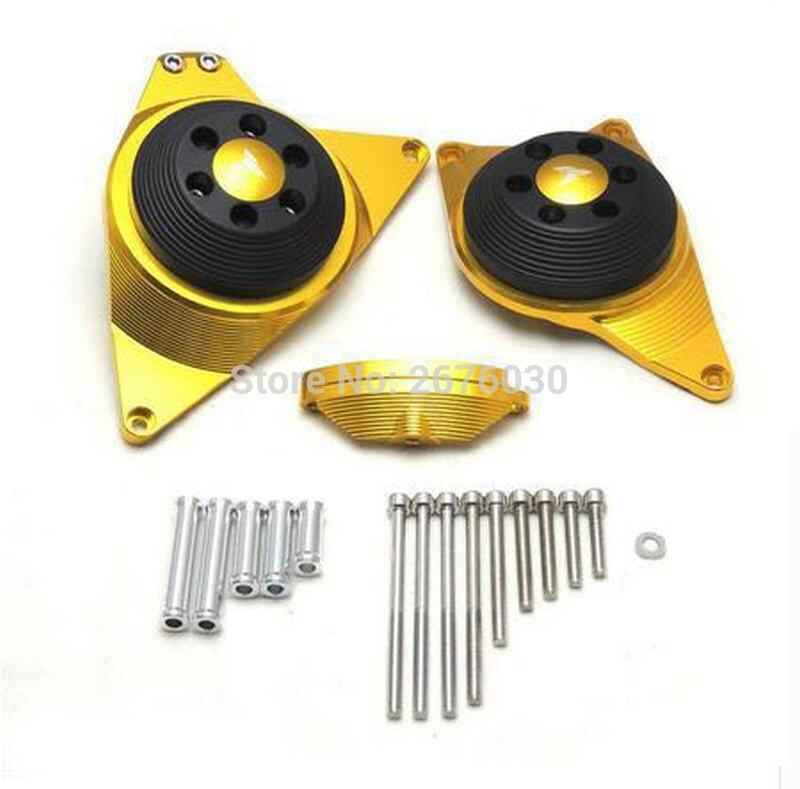 Полный статора двигателя Крышка сцепления крана с ЧПУ алюминиевого сплава протектор для YAMAHA МТ-09