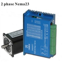 2 Phase NEMA23 2NM Closed Stepper Servomotor Driver Kit for Cnc Machine 2 phase nema23 2nm closed loop stepper servo motor driver kit for cnc machine