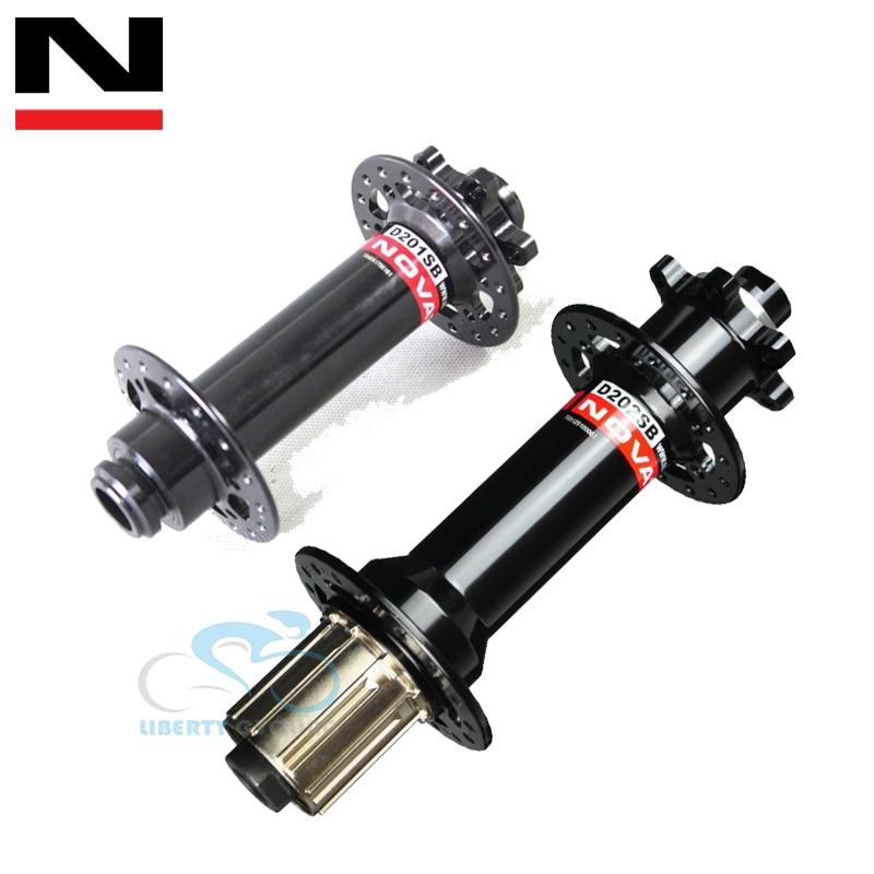 Novatec D201SB-D202SB Fat Bike Hubs,snow//sand bike disc brake hubs,32 holes