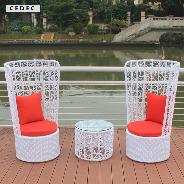 Outdoor Patio Wicker Furniture New Resin 4 Pc Bar Server Table U0026 High Back  Chair Set In Garden Sets From Furniture On Aliexpress.com | Alibaba Group