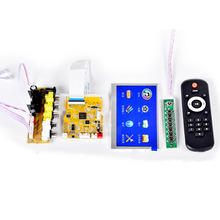 DC9 12V 4.3Inch LCD Lossless Bluetooth Decoder Module DTS FLAC APE AC3 WAV MP3 MP4/MP5 HD Video Decode Board