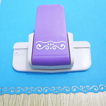 DIY Dies Cutting Fancy border S flower Embossing Machine DIY Punch scrapbooking handmade edge device paper cutter Craft gift large border punch flower knot embossing machines perfect for handmade cards craft height about 4cm 1 57inch