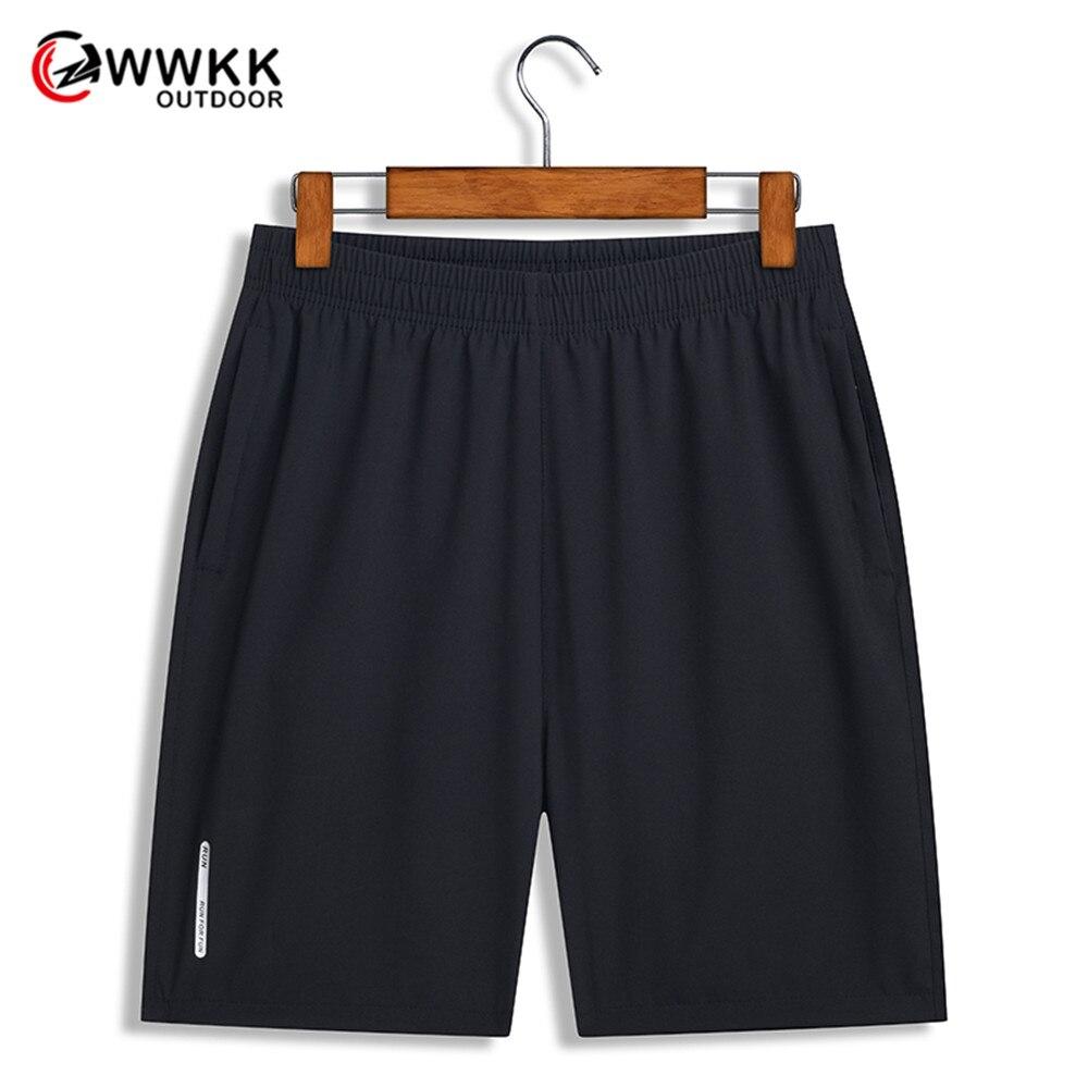WWKK 8XL мужские походные короткие впитывающие пот дышащие походные тренировочные быстросохнущие повседневные шорты с карманами на молнии