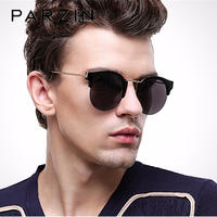 PARZIN Luxury Polarized Sunglasses Women TR90 Vintage Sun Glasses Semi Rimless Shades Female Driver Glasses