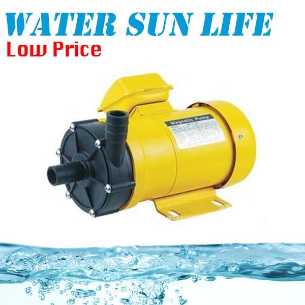 все цены на 220V/60HZ Non-leakage Magnetic Water Pump Big Flow Magnetic Drive Liquid Pump Acid Resistance Clean Water Pump MP-30RM