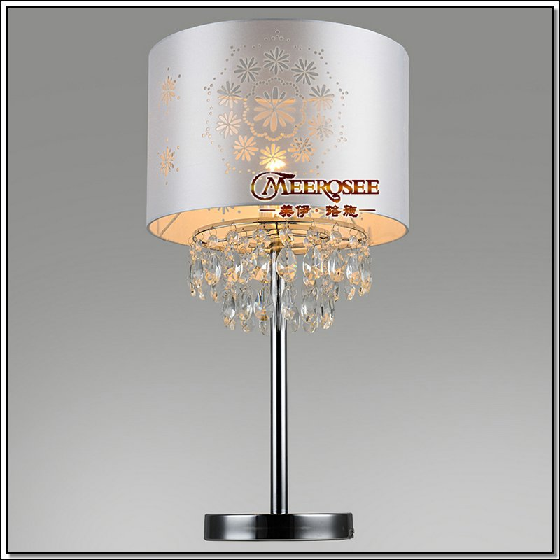 Modern table lamps crystal desk lamp bedside lighting for - Lamp height for bedroom night table ...