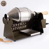 Free Shipping Coffee Bean Roaster With Motor Electric Stainless Steel Coffee Roaster Machine Drum 1PC For