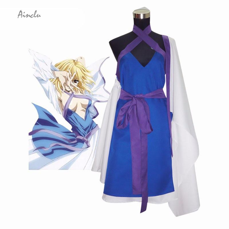 Ainclu Customized Mobile Suit Gundam SEED Destiny Stellar Adult Kid Cosplay Destiny Costume Multi Color White Purple Blue