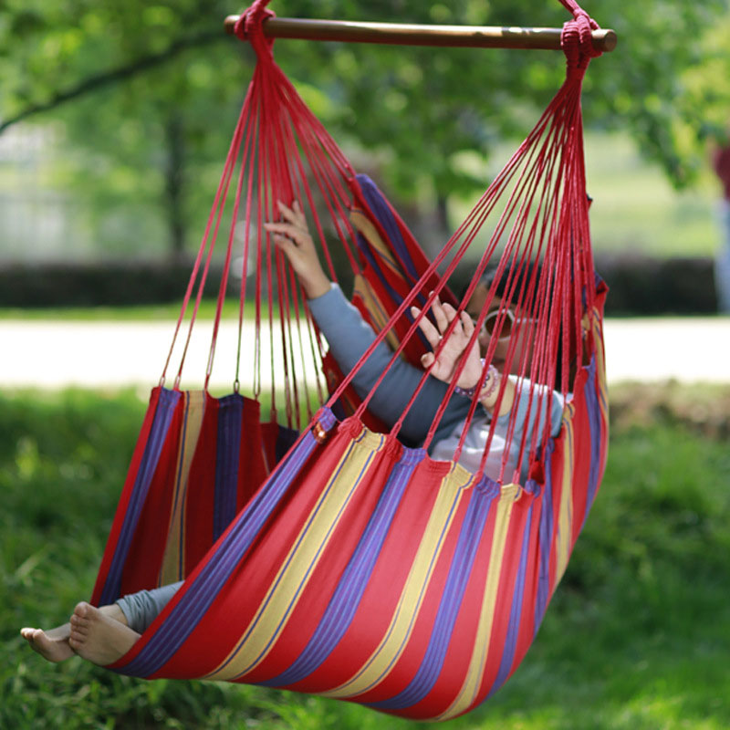 Hot Selling Portable Outdoor Cradle Chair Comfortable Indoor Household Hammock  Chair Dormitoryleasure Hanging Chair FREESHIPPING(