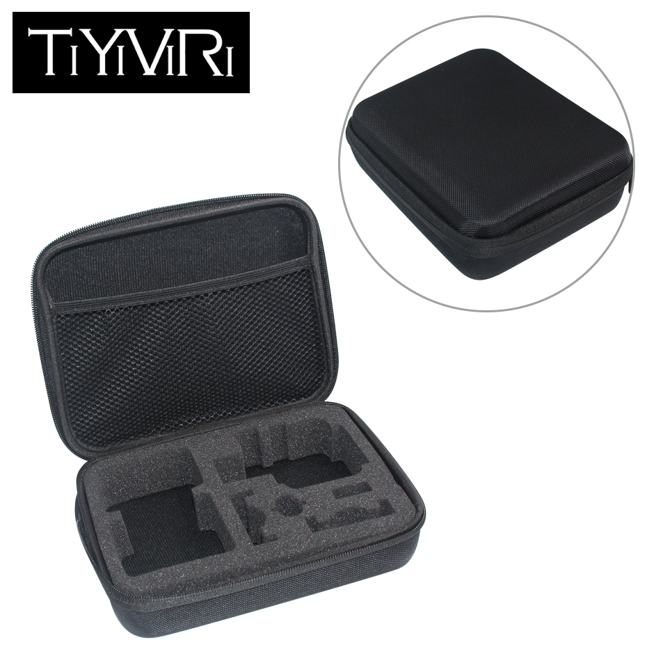 For Gopro Accessories Sport Camera Case Protective Storage Bag Carry Case for Xiaomi Yi Go pro Hero 6 5 4 3 SJ5000 Action Camera new gopro accessories shockproof waterproof collection double box hard bag tools storage hero 4 3 3 2 1 sj4000 sj5000 sj6000