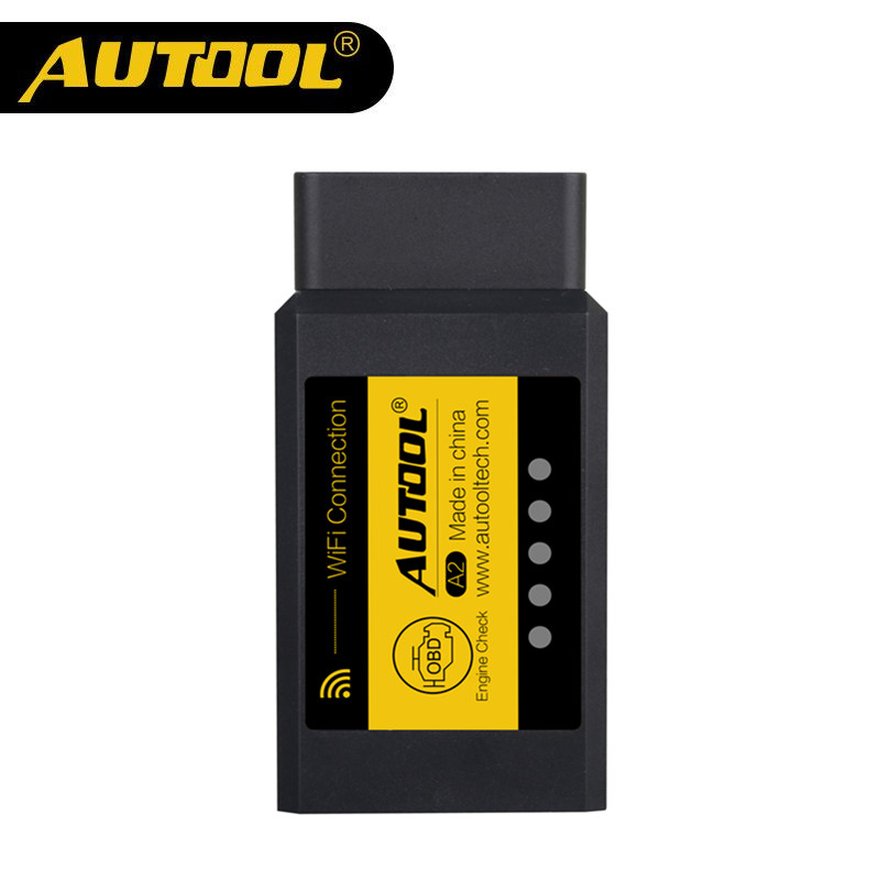 AUTOOL A2 WIFI OBD2 V1.5 OBD2 OBD II Auto Auto-diagnosescanner Works on Android System