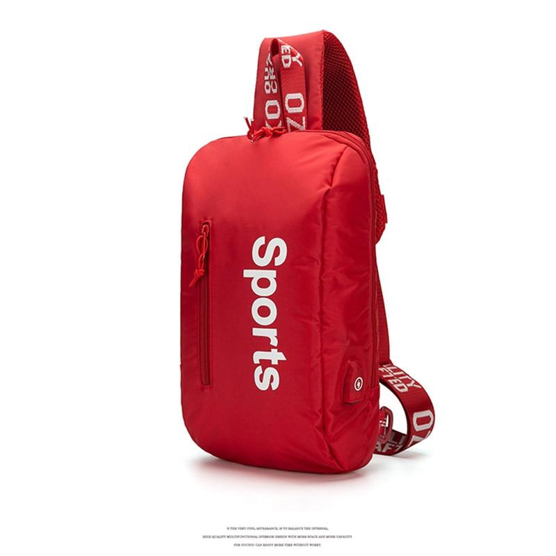 do mensageiro repelente água sling ombro sacos