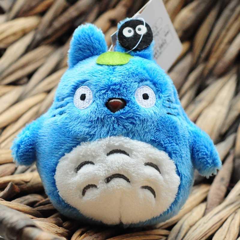 Totoro panda pelúcia animal macio recheado kawaii boneca chaveiro saco de pelúcia crianças brinquedos animais de pelúcia & pelúcia totoro gato boneca presente 10cm