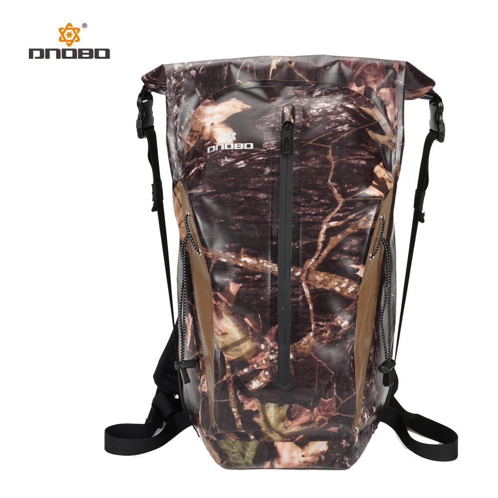 Outdoor River Trekking Bag Dry Bag Double Shoulder Straps Water Pack Swimming Backpack Waterproof Bags for Drifting Kayaking цена