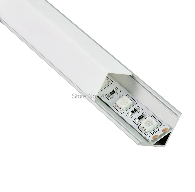 Luzes Led Bar 10 jogos/lote direito angular iluminação Potência : 2.4-38.4w/m