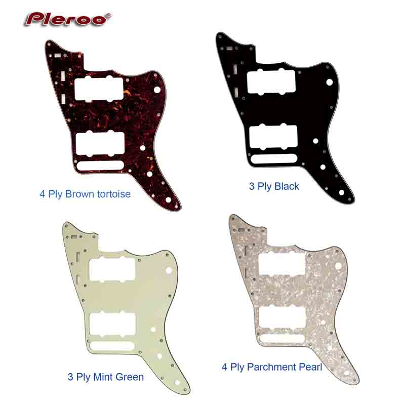 Custom Electric Guitars Guitar Replacement Parts : pleroo custom guitar parts for mexico jazzmaster style guitar pickguard scratch plate ~ Russianpoet.info Haus und Dekorationen