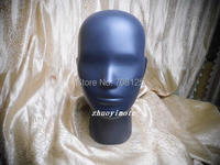 Abstract Black Female Mannequin Wig Head Display